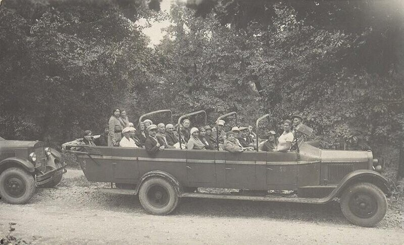 По дороге на Красную Поляну, 1936 год