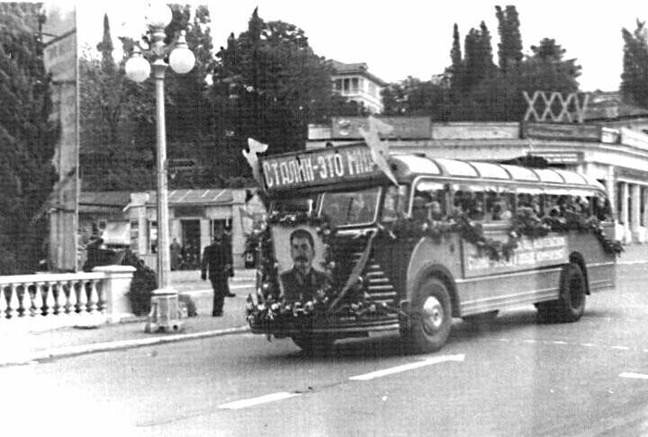 Парад в честь 35 годовщины Великой Октябрьской Революции, 7 ноября 1952 года