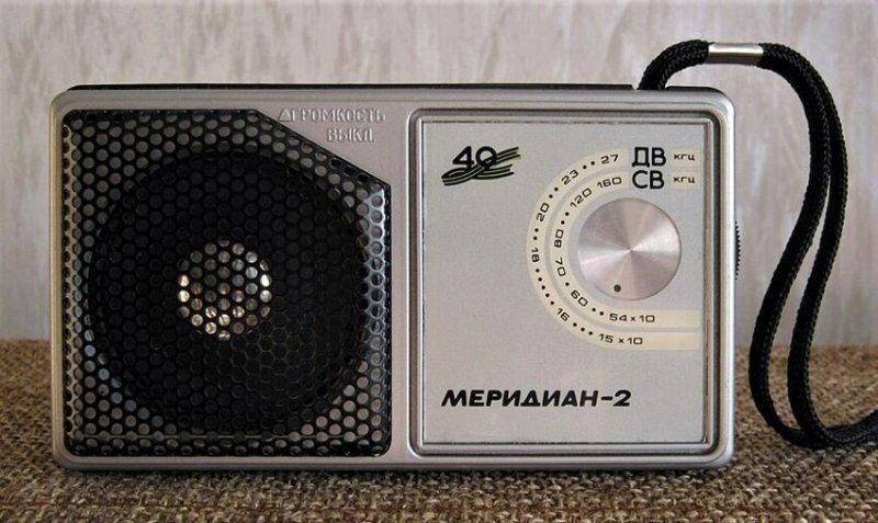 Интересные модели радиоприемников СССР