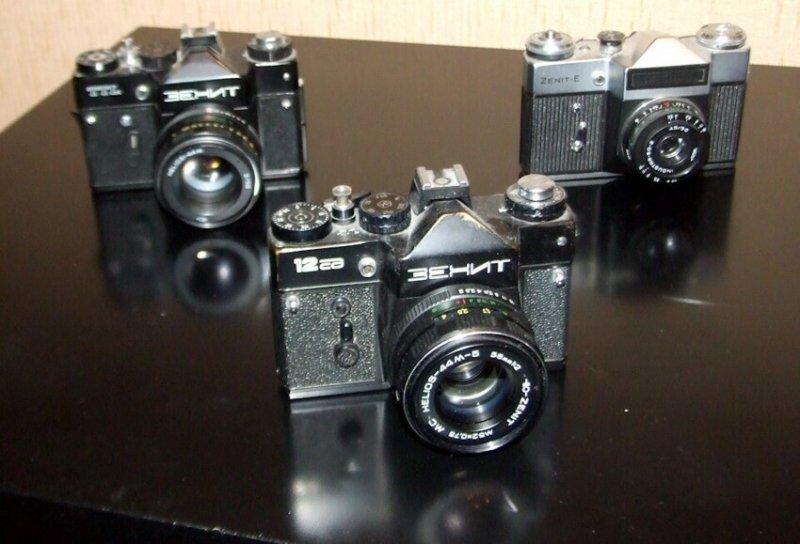 Такие фотокамеры ценятся и сегодня.