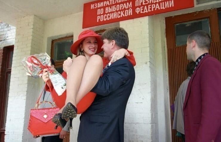 Владимир Брынцалов  с женой