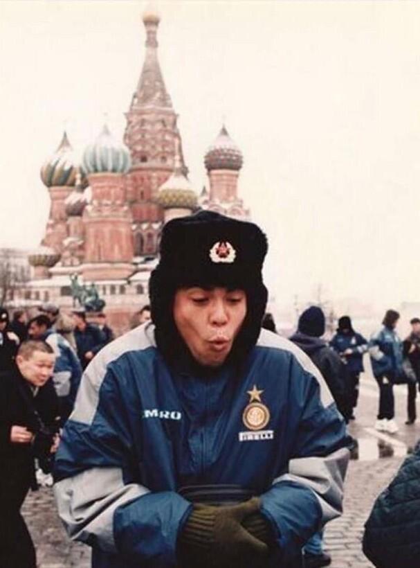 Роналдо на Красной площади