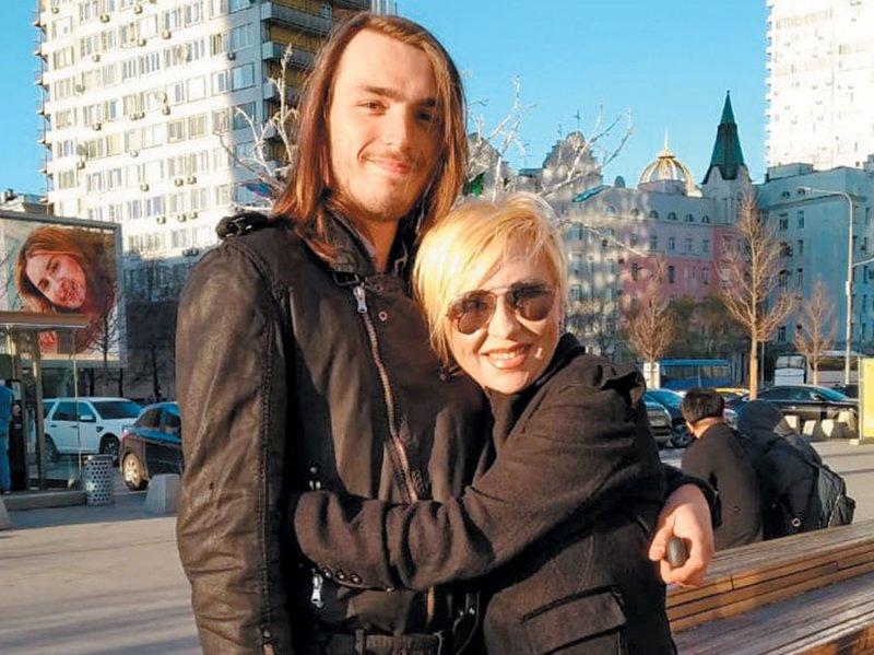Матвей с мамой