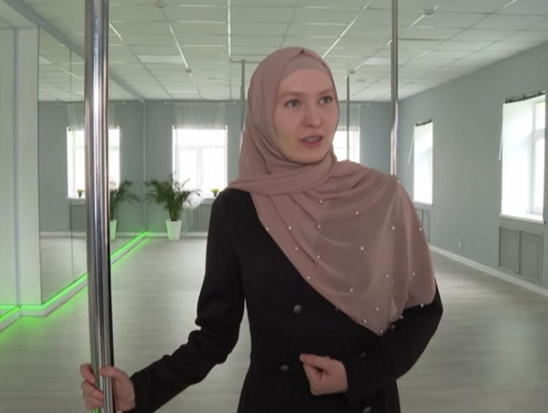 Российских мусульманок научат танцам на шесте