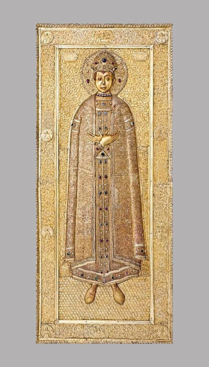 Крышка раки святого царевича Димитрия