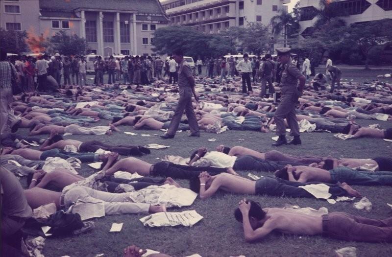 Антикоммунистические митинги в Таиланде
