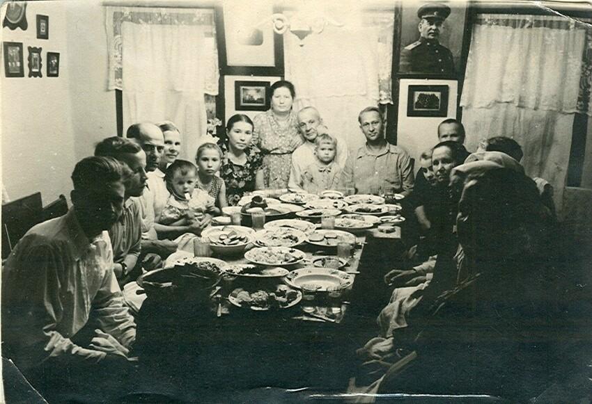 День рождения в далеком советском детстве