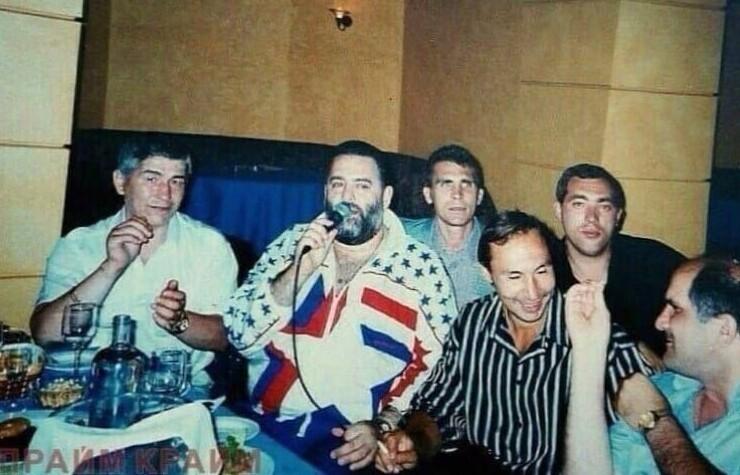 Воры в законе и Михаилом Шуфутинский, 1995 год