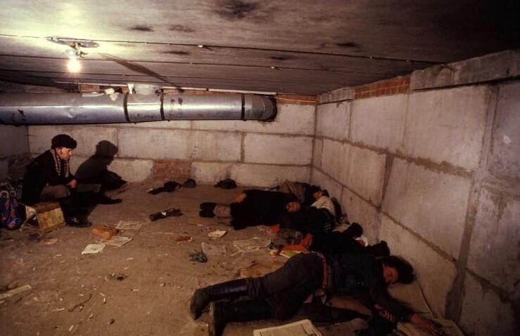 Бездомные в Москве, 1993 год