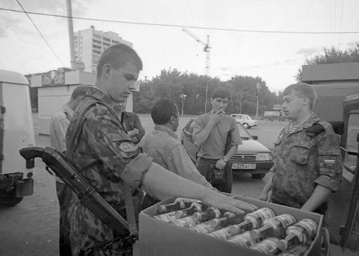 Изъятию контрафактной спиртной продукции, 1994 год