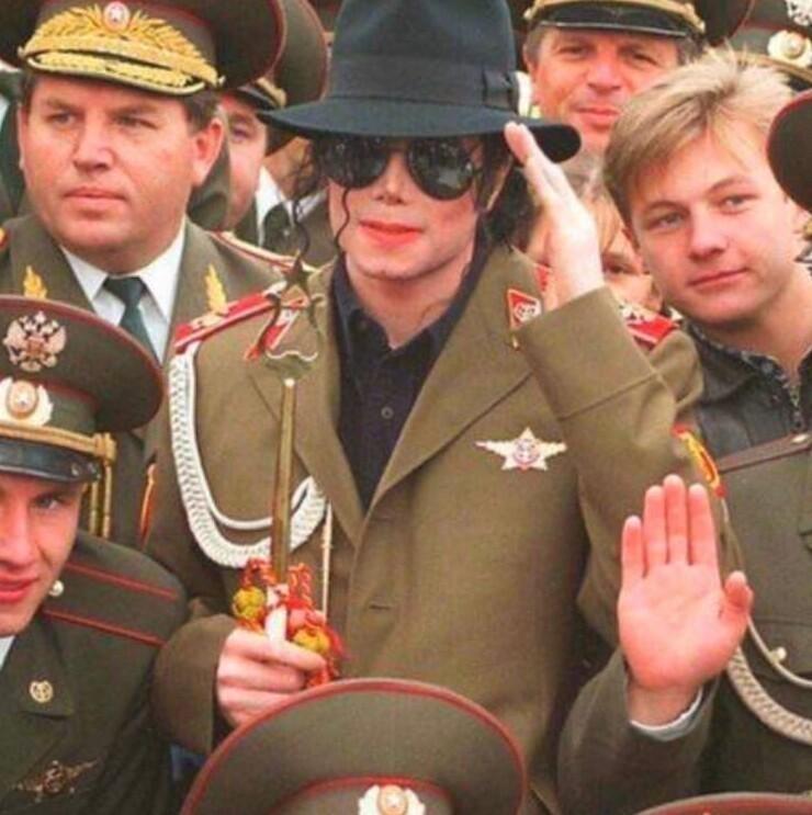 Майкл Джексон  в Москве, 1996 год