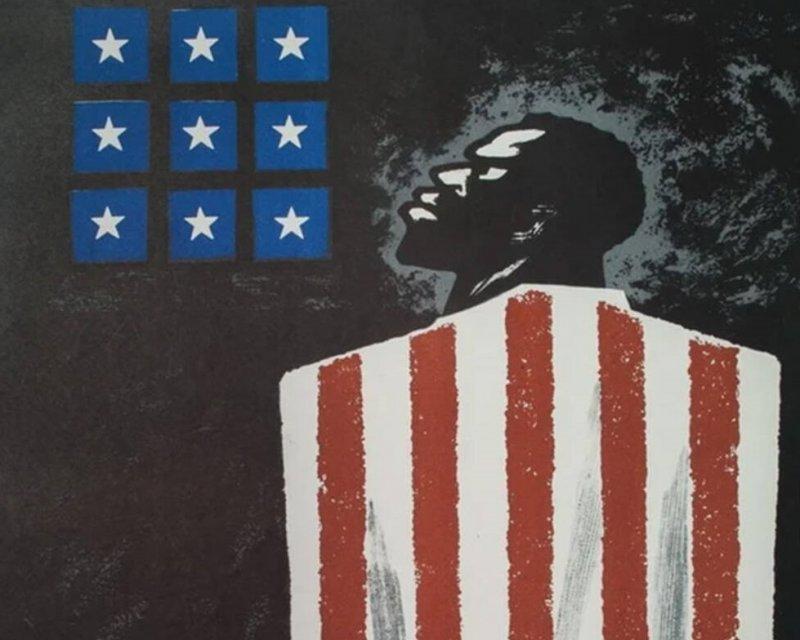 Иностранцы в восторге от советского антирасистского постера