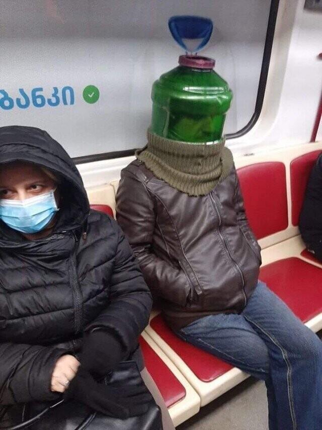 Супермодные красавцы, которых можно встретить только в метро