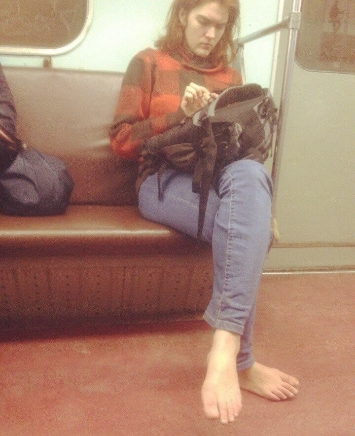 «Высокая» мода из московского метро