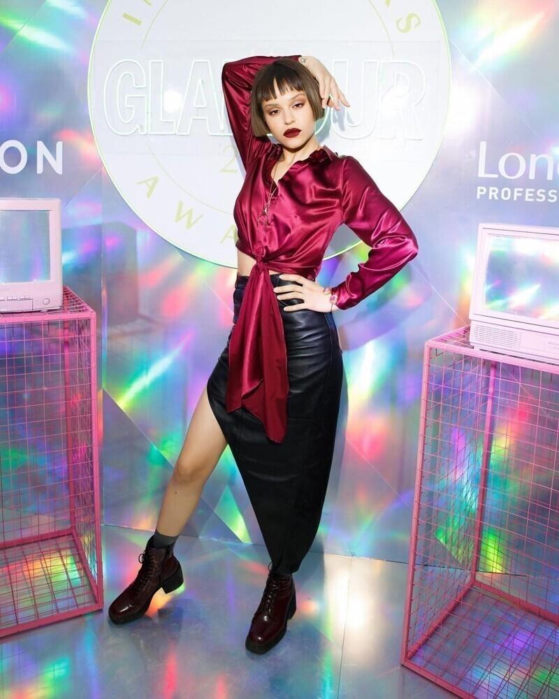 "Кумиры молодежи на премии ""Glamour Influencers Awards 2021"""