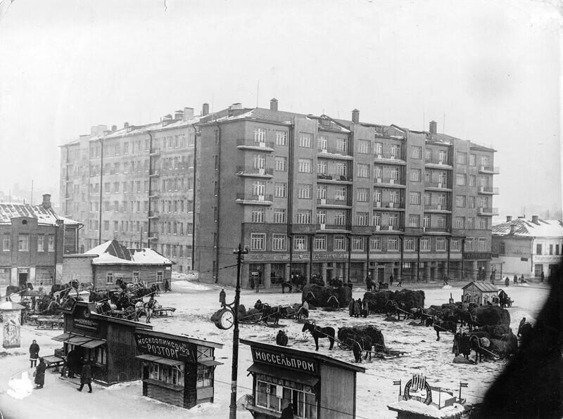 Тишинская площад, 1928 год