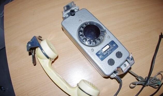 Дисковый телефон
