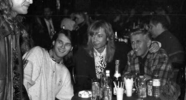 Влад Сташевский, Сергей Зверев, Юрий Айзеншпис, 1993 год