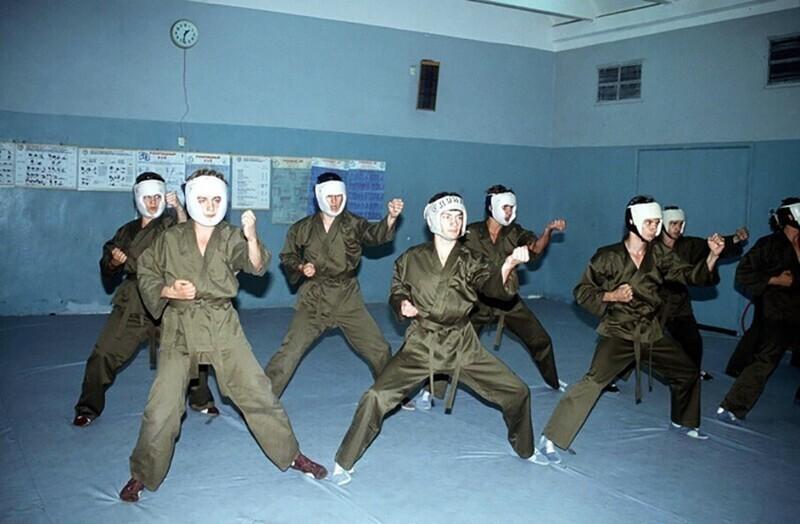 День открытых дверей в школе КГБ, 7.06.1991 год