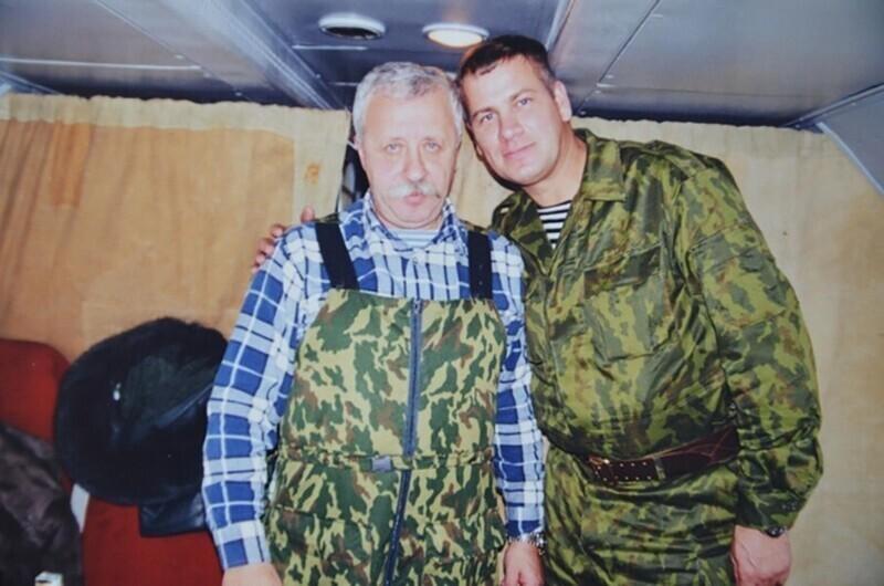 Леонид Якубович посетил военнослужащих в Чечне. Начало 2000-х