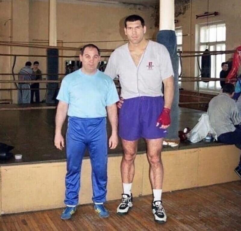 Николай Валуев в начале карьеры, 90-е