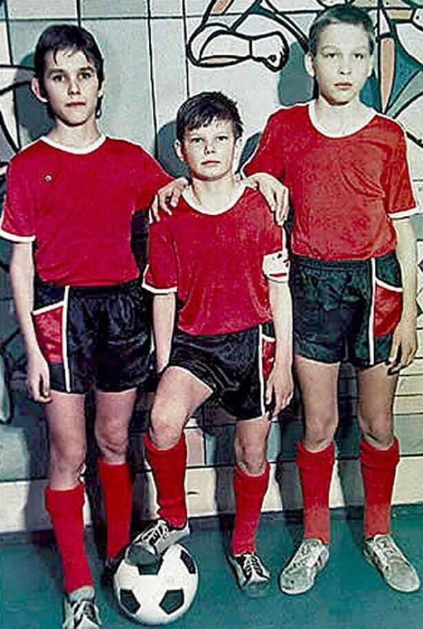 Молодой Аршавин в начале своего футбольного пути