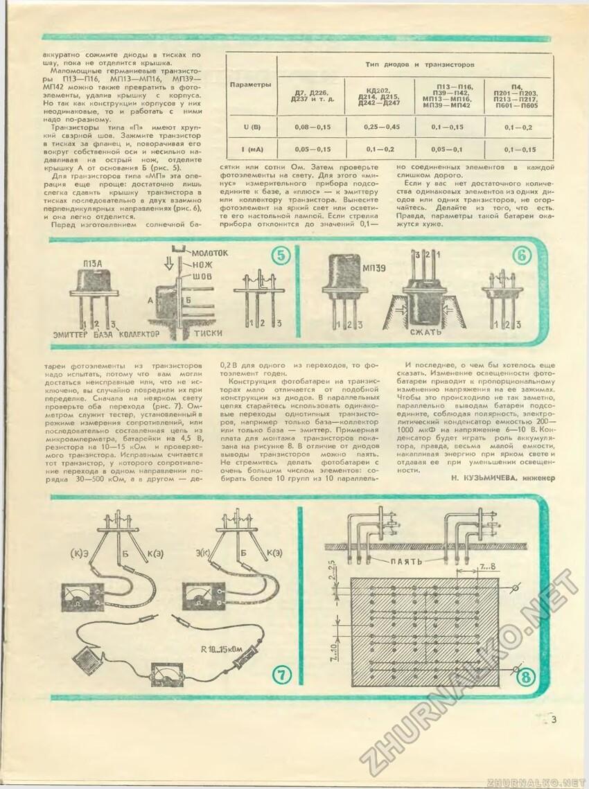 Зачем в транзисторы СССР запаивали белый порошок?