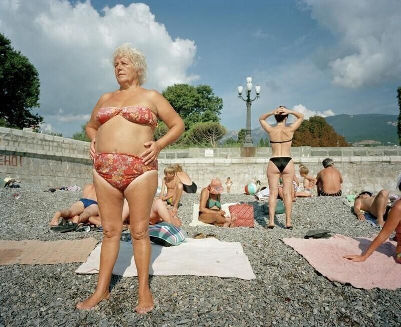Интересные снимки: Ялта 90‑х годов в объективе британского фотографа