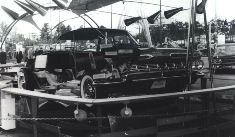 Сhevrolet Impala в разрезе