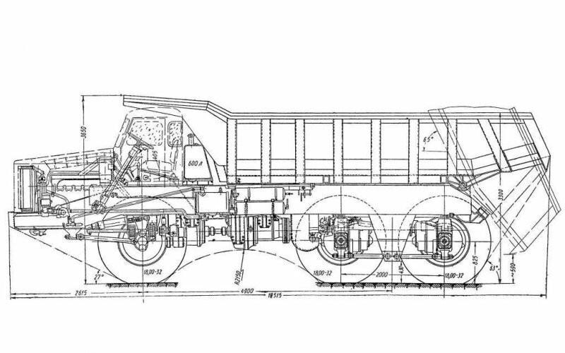 Шасси МАЗ-530