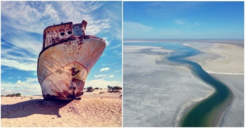 Здесь было море: последствия одной из самых страшных природных катастроф Советского союза