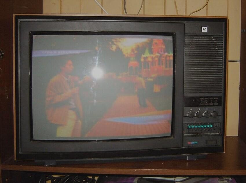 2. Цветной телевизор