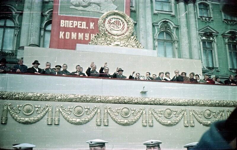 Прогулка по Ленинграду 1966 года