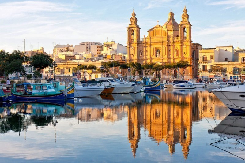 Ионические острова и  Мальта