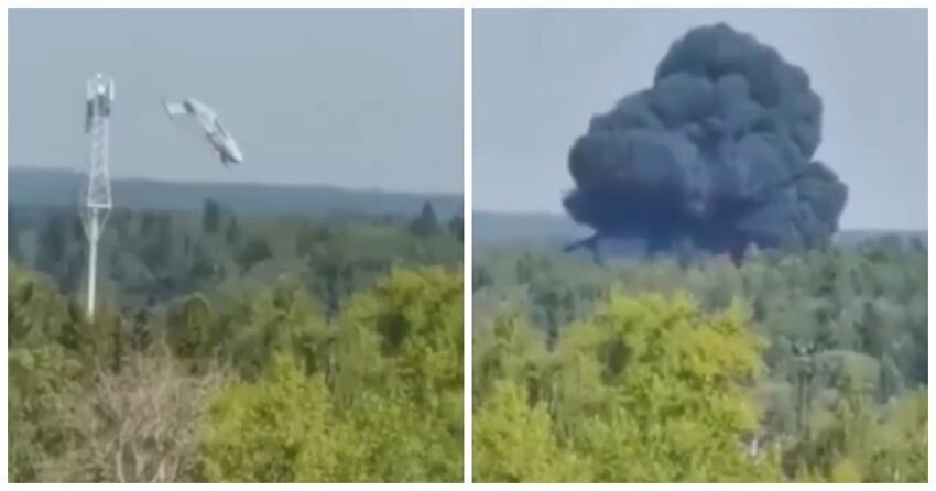 В Подмосковье разбился опытный образец самолета Ил-112В