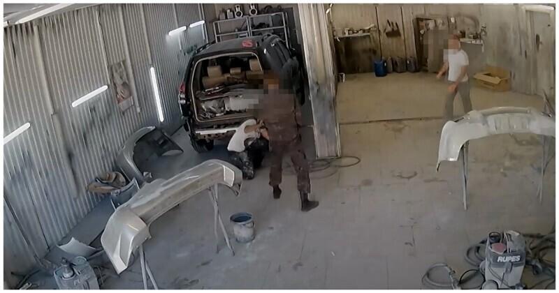 В Ставрополе мужчина ударил лопатой сотрудника автосервиса