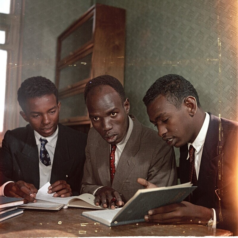 МГУ, суданцы изучают русский язык