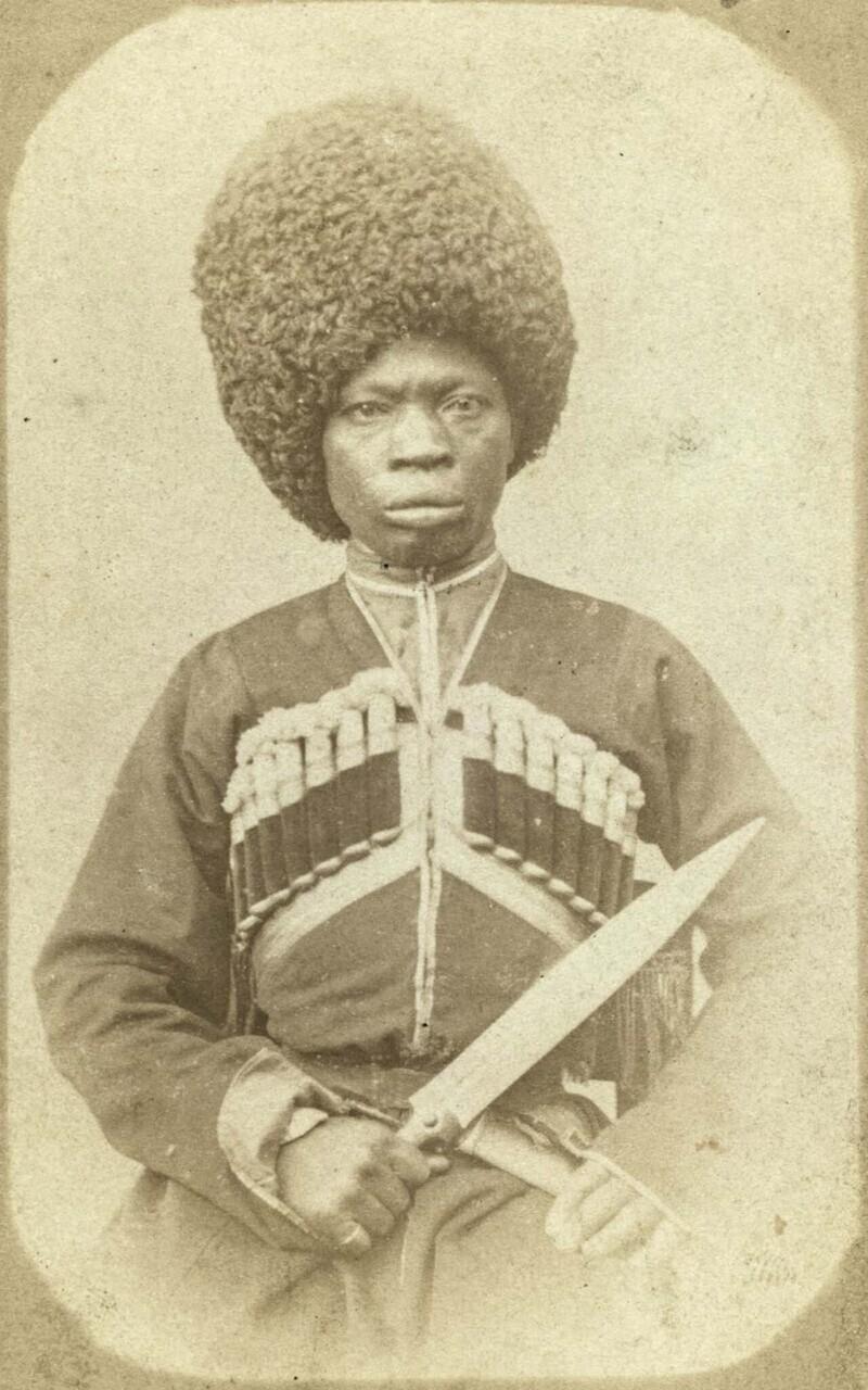 Афро-абхазский горец
