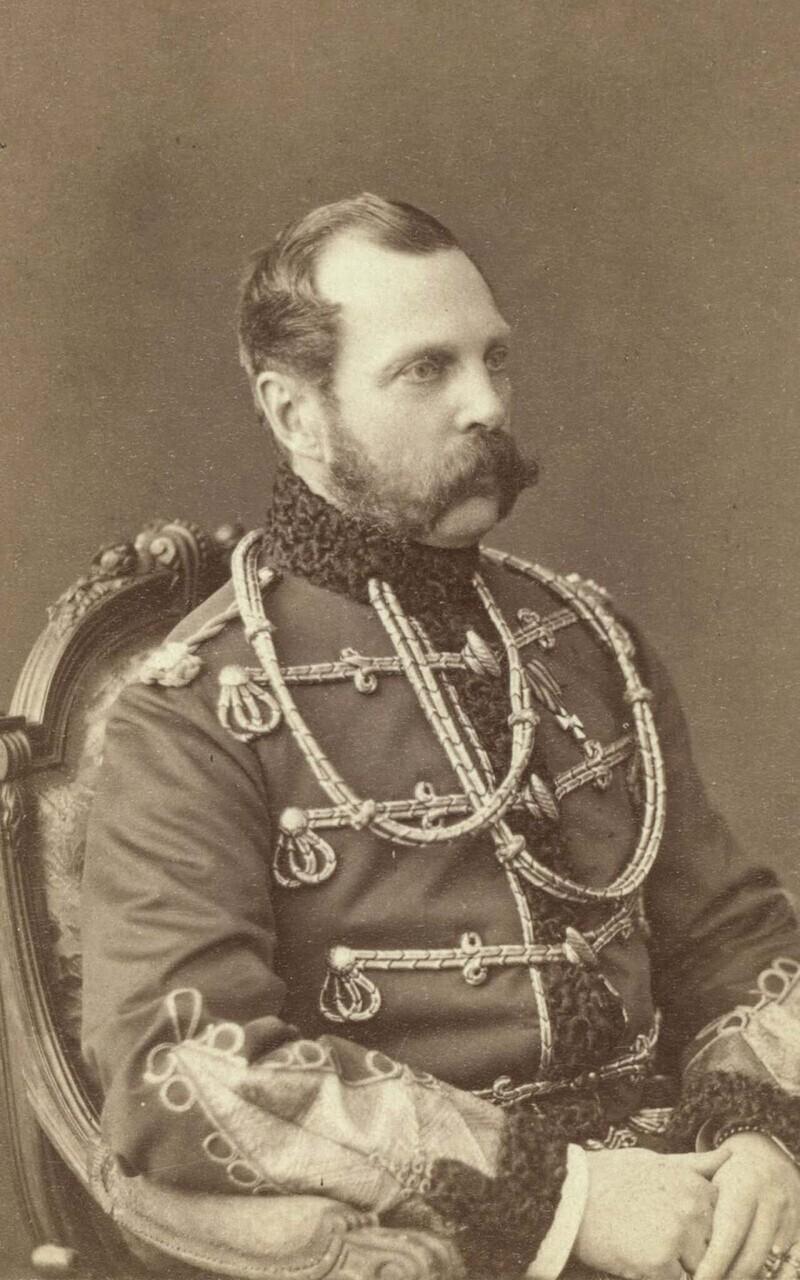 Александр II, российский император с 1855 по 1881 год