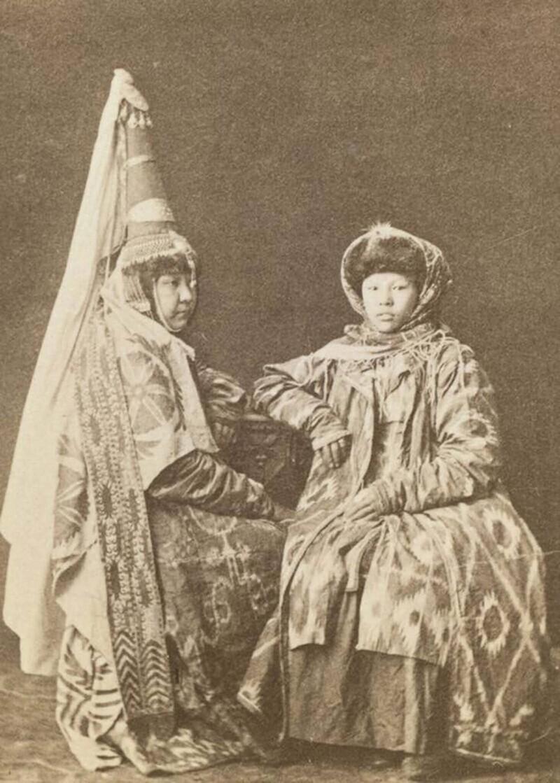 Казахские женщины