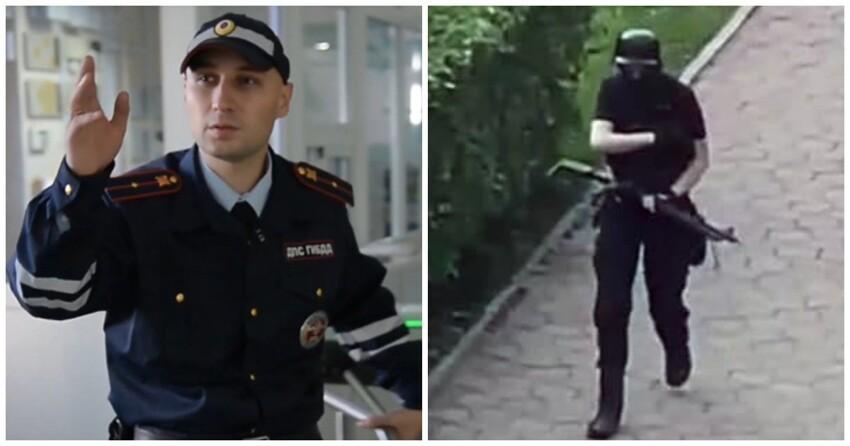 Владимир Путин наградил обезвредившего Бекмансурова полицейского