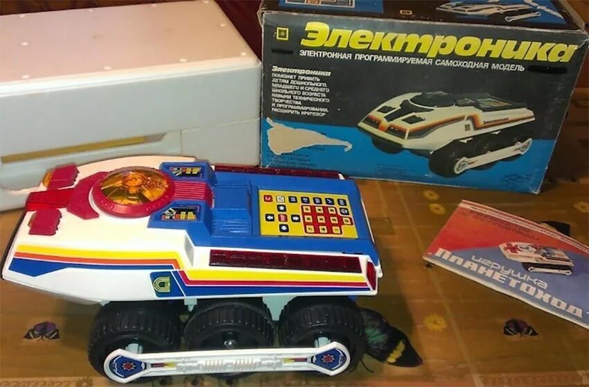 Сколько разных игрушек-лунходов выпускали в СССР? Не угадаете...