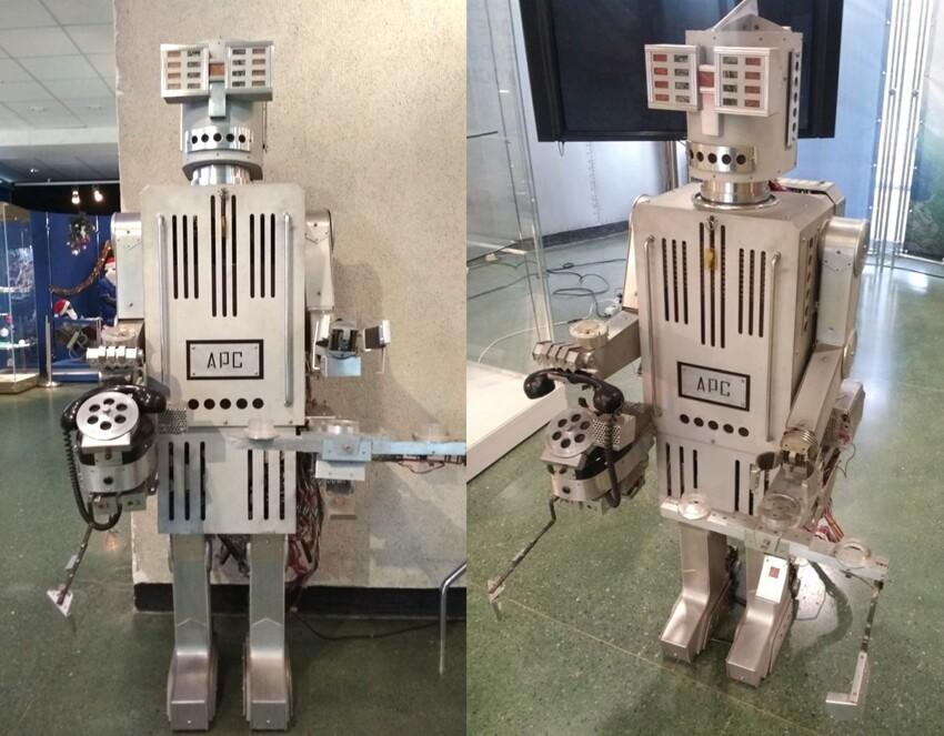 """Советский робот-секретарь АРС 1966 года -вот где настоящая система """"умный дом"""""""