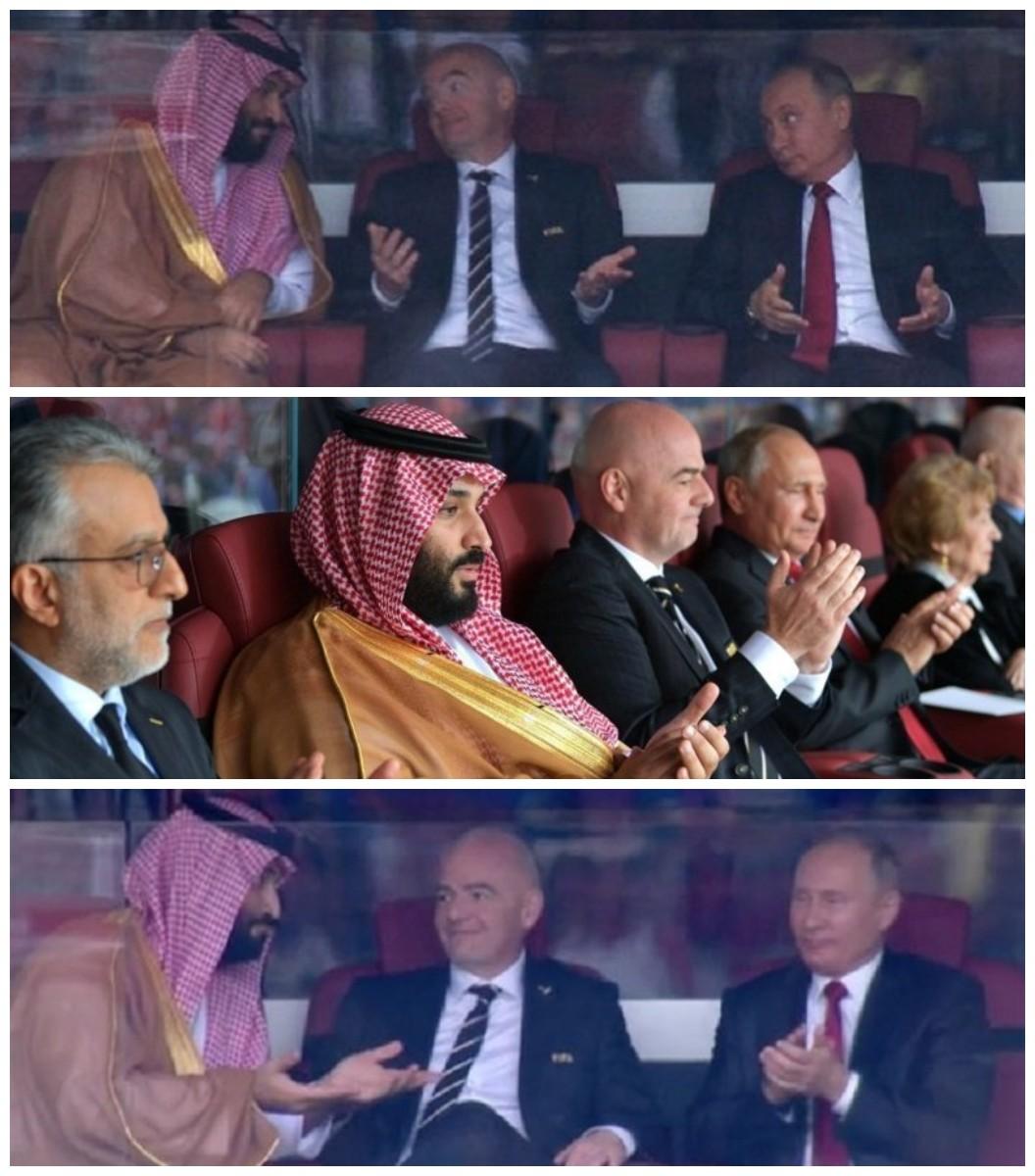 Радость или удивление? Реакция Президента России на первый матч ЧМ