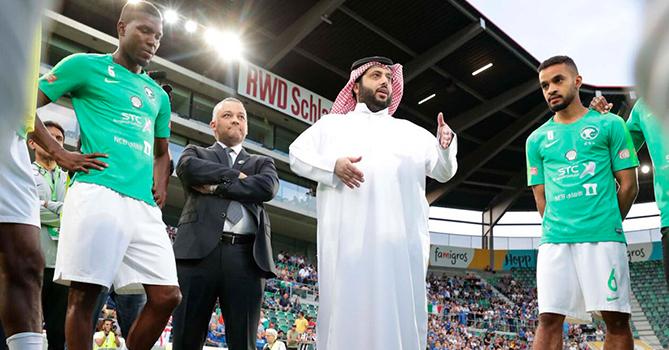 Аль аш-Шейх: Футболисты не показали и 5%, что от них ожидали